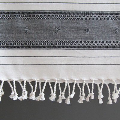 Embroidered Hammam Towel