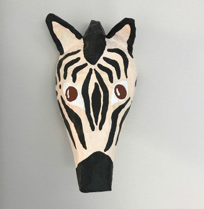 Mr Zebra Animal Head