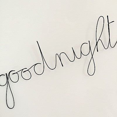 'Goodnight' Wire Word