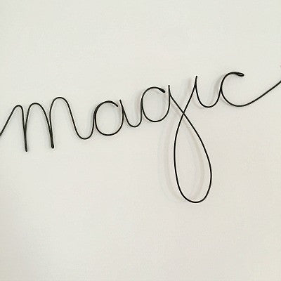 'Magic' Wire Word