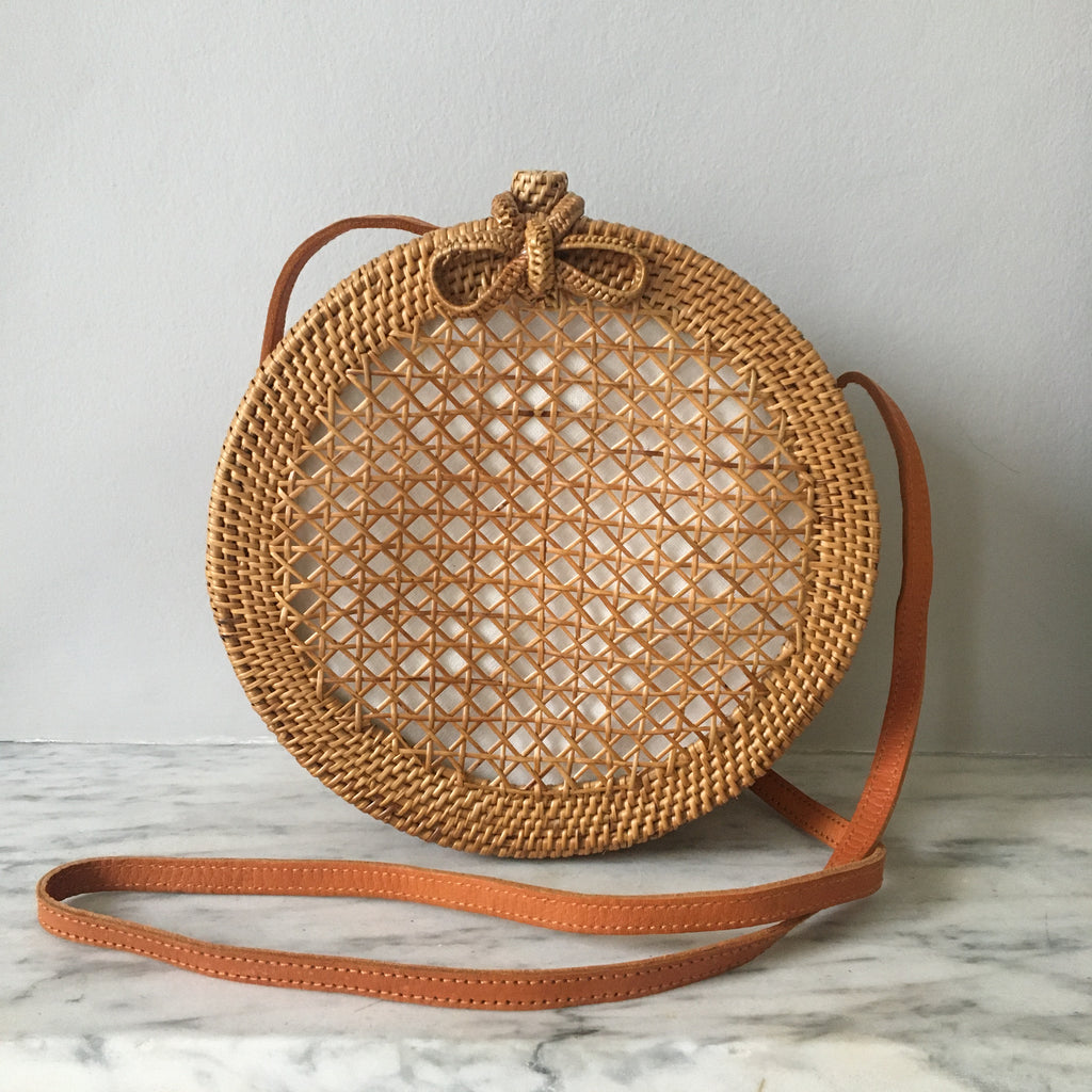 Circular Box Cane Bag (END OF LINE)