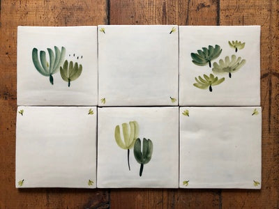 Hand-painted Tiles - Made to order