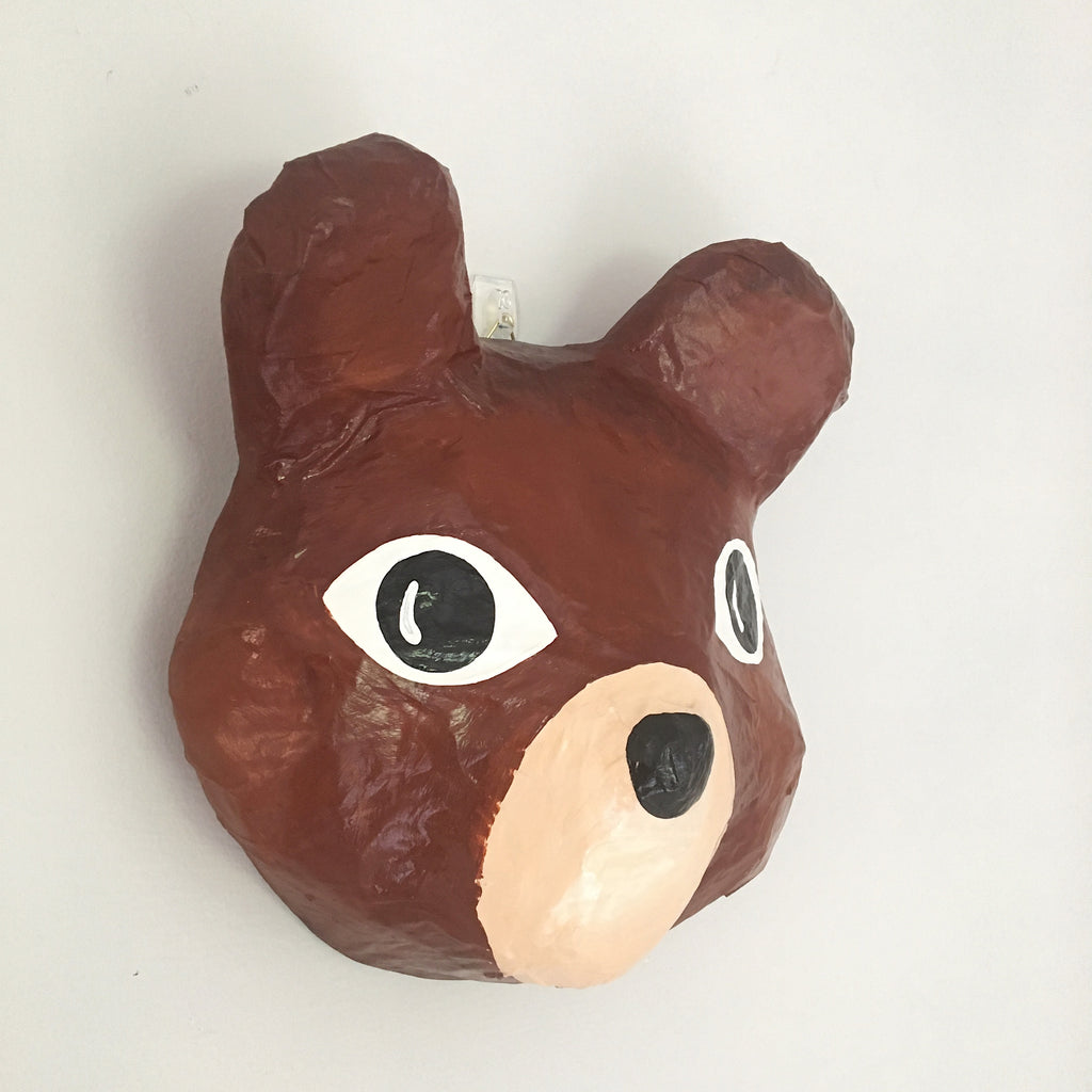 Mr Bear Animal Head