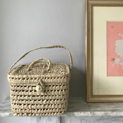 Woven Basket with Lid (Second)