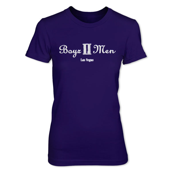 Las Vegas T-Shirt - Purple Sparkle