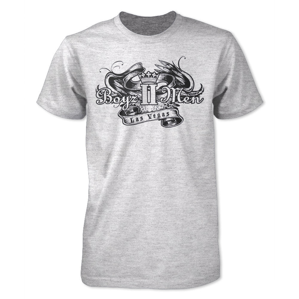 Las Vegas Crown T-Shirt - Gray