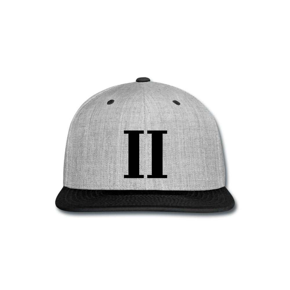 Boys II Men Heather Grey Snapback Cap