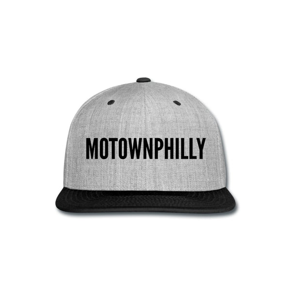 Boys II Men Motownphilly Heather Gray Snapback Cap