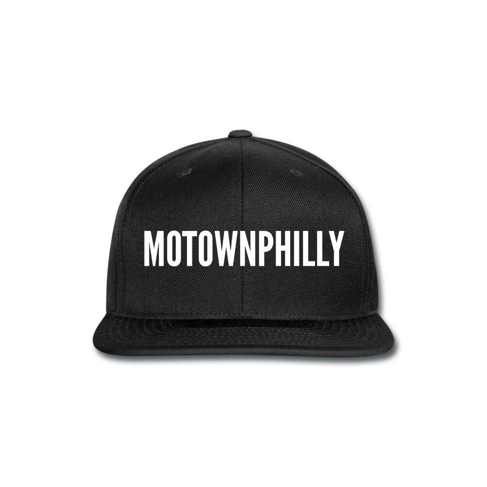 Boys II Men Motownphilly Black Snapback Cap