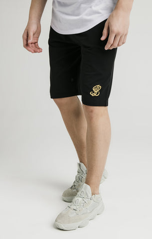 Short Illusive London Jersey 0158 black - Puber Sports