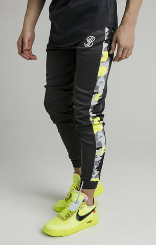 Pantalón niño Illusive AW/19 Cuffed Joggers - grey/neon green - Puber Sports