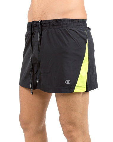 Short running hombre Champion 210173S17 negro talla XL - Puber Sports