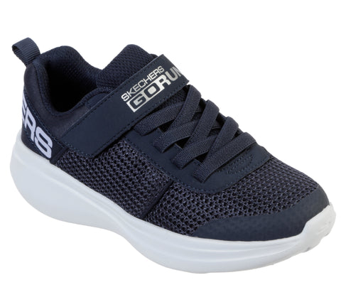 Zapatillas niño velcro SKECHERS GO RUN FAST - THARO 97875L navy marino - Puber Sports