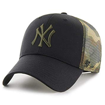 GORRA 47 New York Yankees trucker CURVED B-BCKSW17CTP negro - Puber Sports