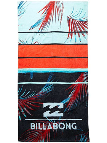 Toalla Billabong Spinner towel C5TO02 rojo - Puber Sports