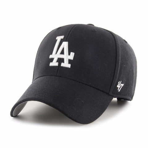 GORRA 47 LOS ANGELES DODGERS CURVED B-MVP12WBV negro - Puber Sports