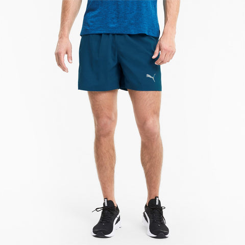 "Short running hombre PUMA RUN FAVORITE WOVEN 5"" 519393 azul"