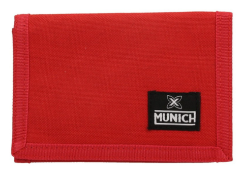 Billetero cartera Munich cordura rojo