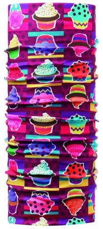 Braga cuello niño Original Buff Cupcake 10 multicolor - Puber Sports