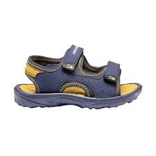 Sandalias niño J.Smith velcro Perline azul marino - Puber Sports