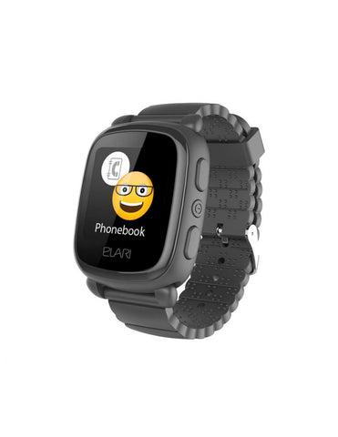 Reloj inteligente SMARTWATCH GPS KIDPHONE MUVIT color negro
