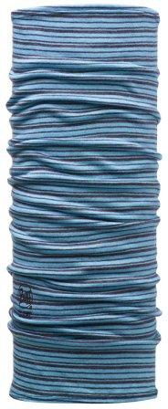 Braga cuello niño/junior Original Buff Wool lana azul - Puber Sports