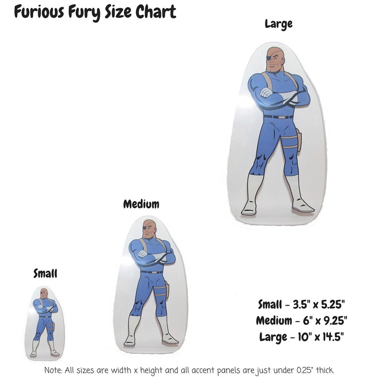 Furious Fury Decoration Panel