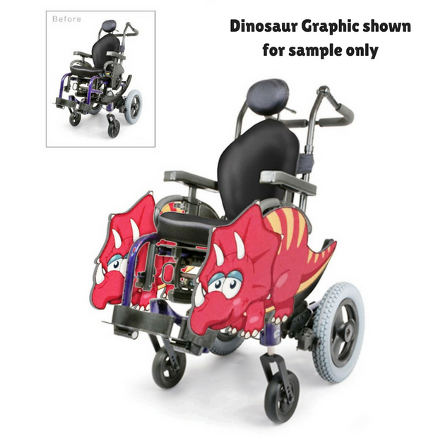 Super Jim Wheelchair Costume Child's