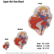 Super Girl Decoration Panels