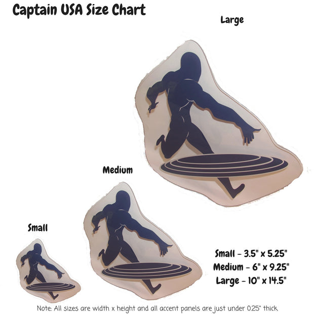 Captain USA Decoration Panel