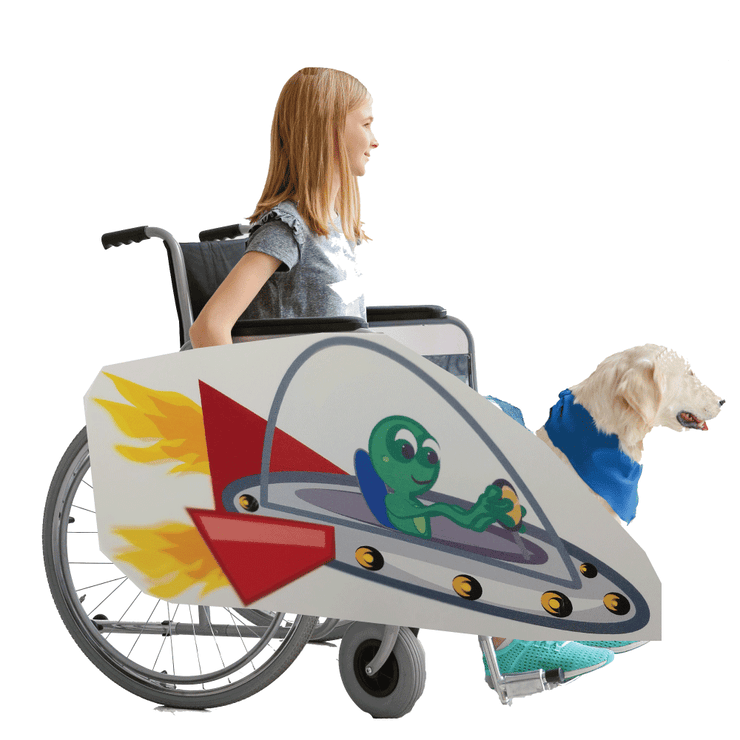 Alien Spaceship Wheelchair Costume Child's