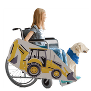 Backhoe 2 Wheelchair Costume Child's