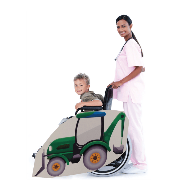 Back Hoe Wheelchair Costume Child's