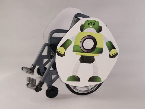 Giant the Robot Wheelchair Costume Child's