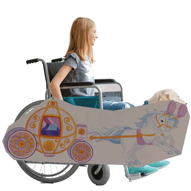 Fairy Tale Carriage Wheelchair Costume Child's