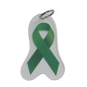 Cerebral Palsy Awareness Ribbon Keychain