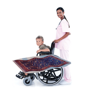Aladdin Flying Carpet Lookalike Wheelchair Costume Child'