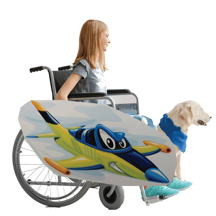Fighter Jet Wheelchair Costume Child's
