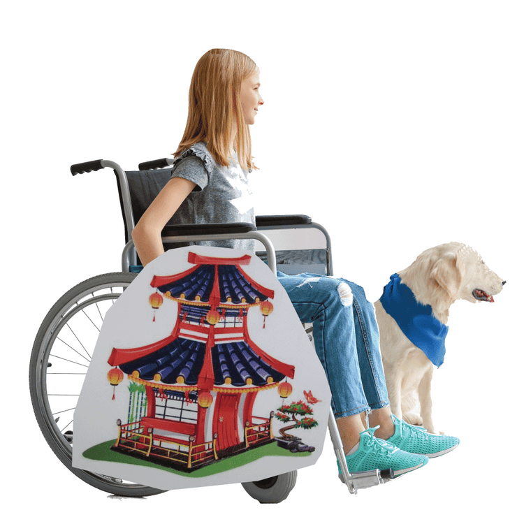 Asian Palace Wheelchair Costume Child's