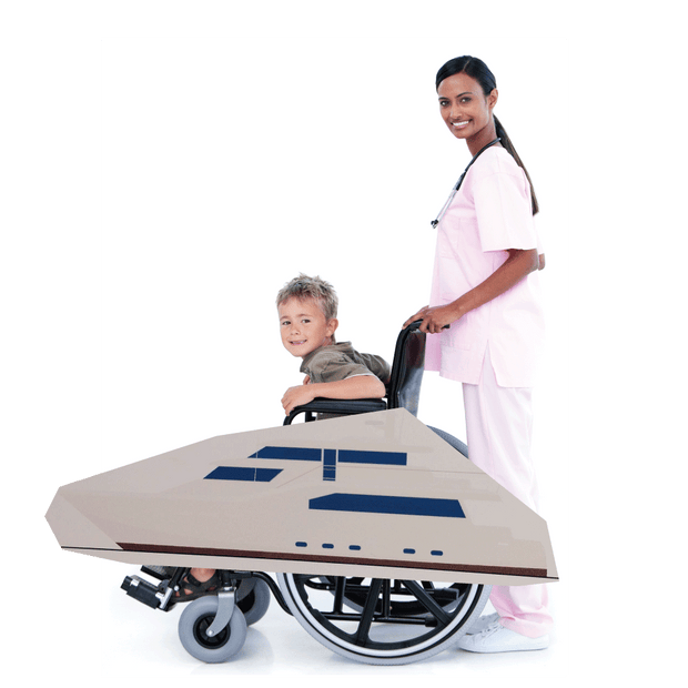 Cruise Ship Wheelchair Costume Child's