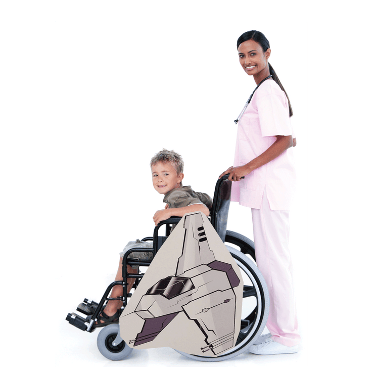 Dark Side Fighter Jet Wheelchair Costume Child's