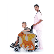 Orange Dragon Wheelchair Costume Child's