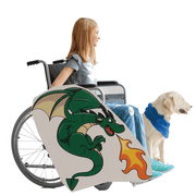 Green Dragon Wheelchair Costume Child's
