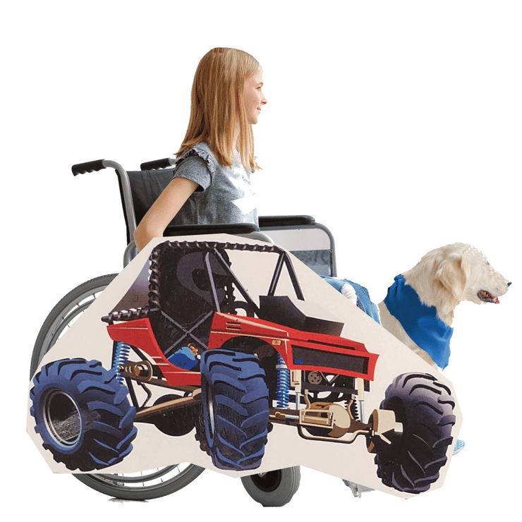 Off Road Vehicle Wheelchair Costume Child's