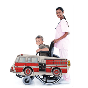 Fire Truck Wheelchair Costume Child's