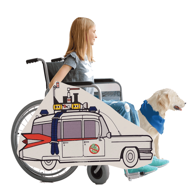 Ghostbusters Car Lookalike Wheelchair Costume Child's