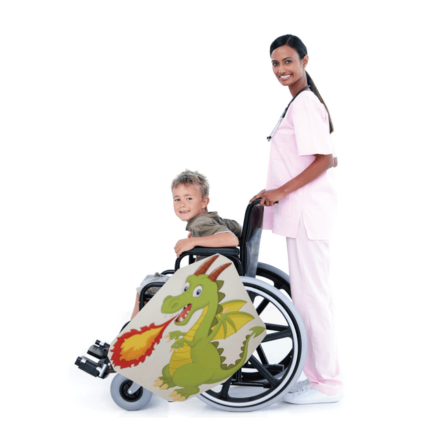Fire Breathing Dragon Wheelchair Costume Child's