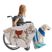 White Horse Wheelchair Costume Child's