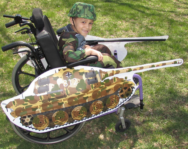 Tank Wheelchair Costume Child's