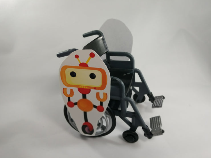 Wheely the Robot Wheelchair Costume Child's